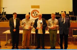 vlnr Michael Jung-FM Kuno Thiel-FM Hans Werner Ackermann-IM Jan Rooze-TL Dr.Ulrich Zimmermann